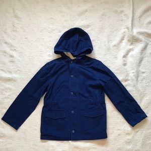 PETIT BATEAU**100% Cotton Royal Blue Jacket**Age 6